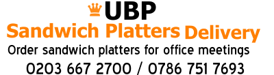 Sandwich Platters Delivery Harrow Wembley Watford Stanmore